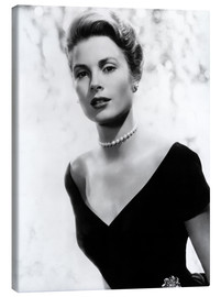 Stampa su tela  Grace Kelly in 1956
