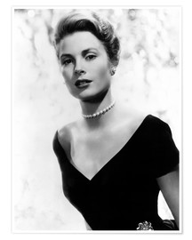 Poster Premium  Grace Kelly in 1956