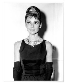 Poster  Audrey Hepburn in Breakfast at Tiffany's