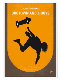 Poster No450 My Dogtown and Z Boys minimal movie poster