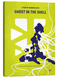 Tela  No366 My Ghost in the Shell minimal movie poster - chungkong