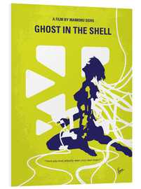 Stampa su schiuma dura  No366 My Ghost in the Shell minimal movie poster - chungkong