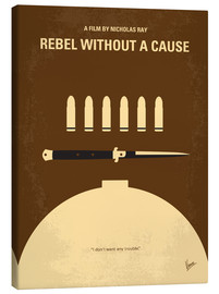 Stampa su tela  Rebel Without A Cause - chungkong