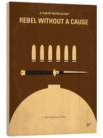 Stampa su legno  Rebel Without A Cause - chungkong