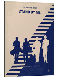Alluminio Dibond  No429 My Stand by me minimal movie poster - chungkong