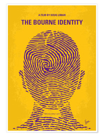 Poster Premium The Bourne Identity