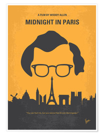 chungkong - No312 My Midnight in Paris minimal movie poster
