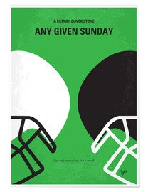 Poster Premium Any Given Sunday