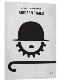 Forex  No325 My MODERN TIMES minimal movie poster - chungkong