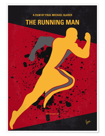 Poster Premium The Running Man