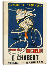 Stampa su tela  Bicycle tires Michelin - H.L. Roowy