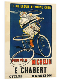 Stampa su schiuma dura  Bicycle tires Michelin - H.L. Roowy