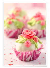 Poster Premium  Lovely Cupcakes