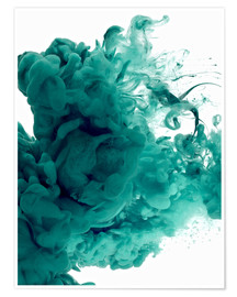 Poster Premium Acrylic colors in water