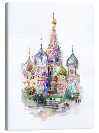 Stampa su tela  St. Basil's Cathedral