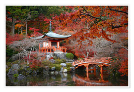 Daigoji Temple in Kyoto in autumn