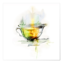 Hot chamomile tea