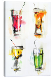 Stampa su tela  Drink colorati