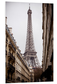 Forex  Eiffel Tower on a rainy day, Paris