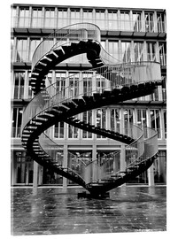 Vetro acrilico  Endless steel stairway in Munich
