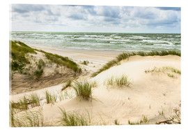 Vetro acrilico  Sand dunes on the Baltic sea