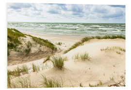 Stampa su schiuma dura  Sand dunes on the Baltic sea