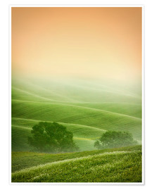 Poster Premium Country Landscapes of Tuscany