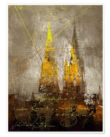 Poster Premium cologne cathedrale