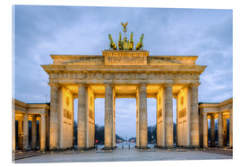 Vetro acrilico  Brandenburg Gate in Berlin - Michael Valjak