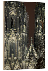 Stampa su legno  Detail of Cologne Cathedral