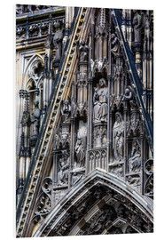 Stampa su schiuma dura  Facades detail at Cologne Cathedral