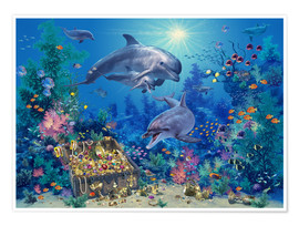Steve Read - 21010 Dolphin Family