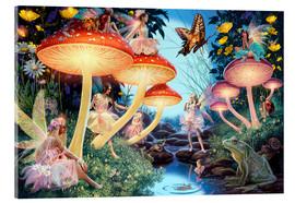 Stampa su vetro acrilico  23979 Toadstool Brook Hidden Object - Steve Read