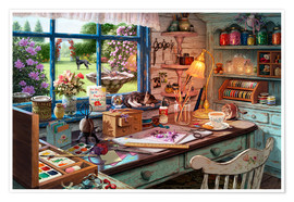 Poster Premium  Grandmas Craft Shed - Steve Read