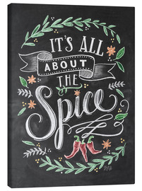 Stampa su tela  It's all about the Spice - Lily & Val