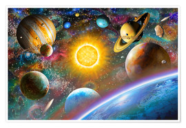 Poster Premium  Outer Space - Adrian Chesterman