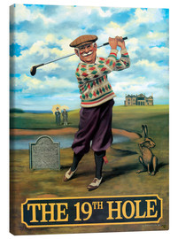 Stampa su tela  27107 The 19th Hole - Peter Green's Pub Signs Collection