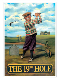 Poster Premium  27107 The 19th Hole - Peter Green's Pub Signs Collection