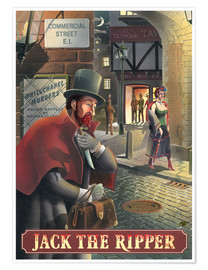 Poster  27105 Jack the Ripper - Peter Green's Pub Signs Collection