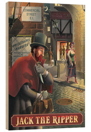 Stampa su legno  27105 Jack the Ripper - Peter Green's Pub Signs Collection