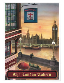 Poster Premium  The London Tavern - Peter Green's Pub Signs Collection
