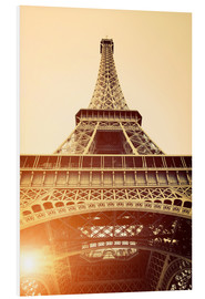 Forex  Vintage Eiffel Tower, Paris