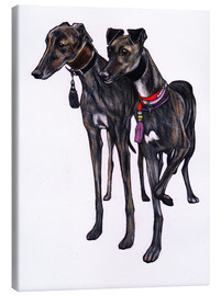 Stampa su tela  Greyhound - Jim Griffiths
