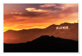 Poster Premium  Hollywood - Salvadori Chiara