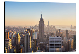 Alluminio Dibond  Manhattan downtown skyline