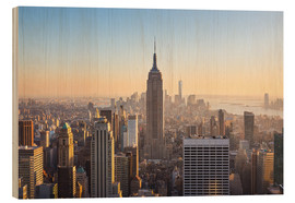 Legno  Manhattan downtown skyline