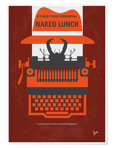 Poster Premium Naked Lunch