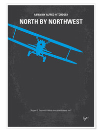 Poster Premium North By Northwest