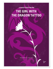 Poster Premium The Girl With The Dragon Tattoo