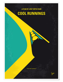 Poster No538 My COOL RUNNINGS minimal movie poster